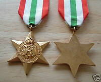 MEDALS - WW2 - ITALY STAR - FULL SIZE