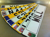 Car Number Plates / Registration plates & Show Plates Fast P&P