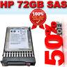 HP 376597-001/431954-002/375861-B21 72GB 10K SAS 2.5 Hard drive RRP