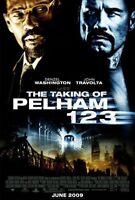 TAKING OF PELHAM 123 MOVIE POSTER DS ORIGINAL 27x40