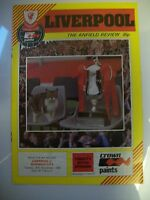Programme, Liverpool v Norwich City, 30.11.1982, Milk Cup 4th round, VGC