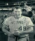 Rob Dibble 1990 World Series Celebration 8x10 Press Photo Cincinnati Reds Baseba