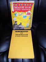 1958 Vintage+Retro ~ Pins And Needles Treasure Book of Family Needlework + Pics