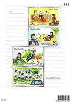Thailand Stamp 2012 International Letter Writing Week S/S