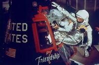New 5x7 NASA Photo: John Glenn Enters Friendship 7 for 1st Earth Orbit