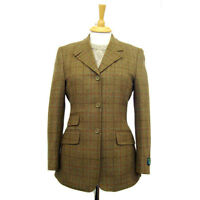 HUNTER OUTDOOR TAILORED  LADIES  GLENMORE 100% WOOL TWEED BLAZER 12, 14, 16