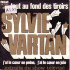 """7"""" 45 TOURS FRANCE SHOW SYLVIE VARTAN """"Tout Au Fond Des Tiroirs +1"""" 1975"""