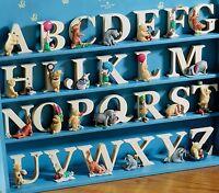 Winnie The Pooh Tigger Piglet Eeyore Alphabet Character Letters Letter Figures