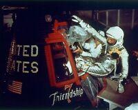 New 8x10 NASA Photo: John Glenn Enters Friendship 7 for 1st Earth Orbit