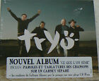 CE QUE L'ON SEME - TRYO (CD DIGIPACK) NEUF SCELLE