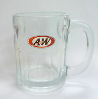 """A&W Grand Celebration GLASS MUG CUP Heavy MALAYSIA More Than The Usual 2012 4"""""""