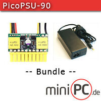 picoPSU-90 DC/DC (90 Watt) + AC/DC 90W Adapter