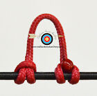 3 Pack Red Archery Release Bow String Nock D Loop Bowstring BCY #24