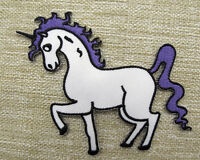 CUTE  UNICORN  Embroidered  Iron On/Sew On Patch Emo Goth Punk Rock