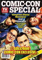 SDCC Exclusive BIG BANG THEORY Magazine Cover 2010 TV Guide Kaley Cuoco