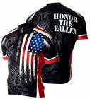 Military Fallen Warrior Mens Cycling Jersey Bike 83 Sportswear USMC Army Navy