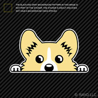 Pembroke Welsh Corgi Sticker Die Cut Decal Self Adhesive Vinyl Cardigan