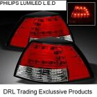 RED CLEAR LED TAIL LIGHTS for Holden Commodore VE SERIES 1 SERIES 2 NEW DESIGN