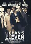 OCEAN'S ELEVEN FATE IL VOSTRO GIOCO DVD VERSIONE SNAPPER