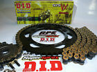 HONDA CBR600RR '07/16 DID 525VX GOLD QUICK ACCELERATION CHAIN AND SPROCKETS
