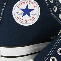 CONVERSE ALL STAR HIGH DRESS BLUE MENS US SIZE 7, WOMENS 9