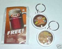 A&W 45th Grand Celebration KEYCHAIN RING World Hunger MALAYSIA 2009 Charity
