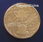 $1 Australian Open 2012 Official Australian Open Women's Trophy One Dollar Coin