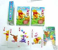 Playing Cards WINNIE The POOH Bear Standard 52 Pack NEW Children