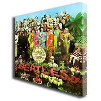 The Beatles Sgt Pepper Album box canvas art print 122