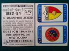 CALCIATORI 1983-84 83-1984 n 576 POTENZA RAVENNA SCUDETTO - Figurina Panini NEW
