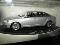 1:43 Minichamps Audi A6 Limousine lichtsilber/silver 2004 OVP