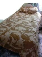 Army Desert Camo Single Quilt / Duvet Cover *LOOK* (A)