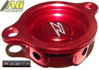 Zeta Oil Filter Cover Red Honda CRF 250R 2010-2012 CRF 250 10-12 Motocross MX
