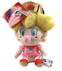 "Little Buddy Super Mario Bros 1249 Nintendo 5"" Baby Peach Stuffed Plush Toy Doll"