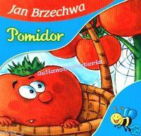 POMIDOR Jan Brzechwa dla dzieci KARTONOWE polskie ksiazki bajki po polsku *JBook