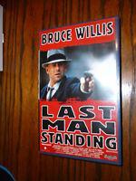 VHS Last Man Standing Bruce Willis   frei ab 16 Jahren gebraucht