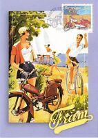 Classic Vintage Fram Great Moped Motor Bike Sweden Maxi FDC 2005