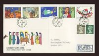 1981 Christmas ROYAL COURT Post Office with BUCKINGHAM PALACE CDS FDC