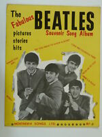pop THE BEATLES souvenir song album , 1963