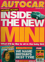 AUTOCAR MAGAZINE 20 OCTOBER 1999 MOTOR SHOW GUIDE BMW X5 JAGUAR XKR SVO TEST