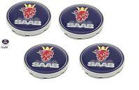 Saab Alloy Wheel Centre Caps (Set of 4) 12775052