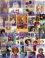 16,000+ Vintage EPHEMERA COLLECTION on DVD~ViCtoRiAn~WiNgs~Tags~Bottle Caps~MORE