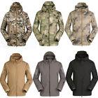 Men Waterproof Combat Military Field Hiking Camping Outdoor Hoody Coat Jacket