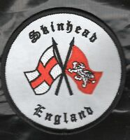 SKINHEAD PATCH ENGLAND NOT SKA Oi ISD  ,,,,,,2