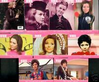 THE DEFINITIVE AVENGERS DIANA RIGG TV 10 card preview set A promo EMMA PEEL