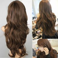 Sexy Womens Long Curly Wavy Hair Full Wigs Party Costume Wig Cosplay Wig