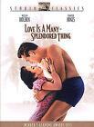 Love is a Many Splendored Thing (DVD, 2003, Studio Classics)