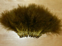 1/2 oz. Strung Sculpin Olive Blood Quill Marabou Feathers