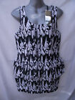 BNWT Womens Sz 12 Vero Moda Brand Stunning Black/White Cocktail Style Dress