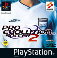 Pro Evolution Soccer 2 (Sony PlayStation 1, 2003)